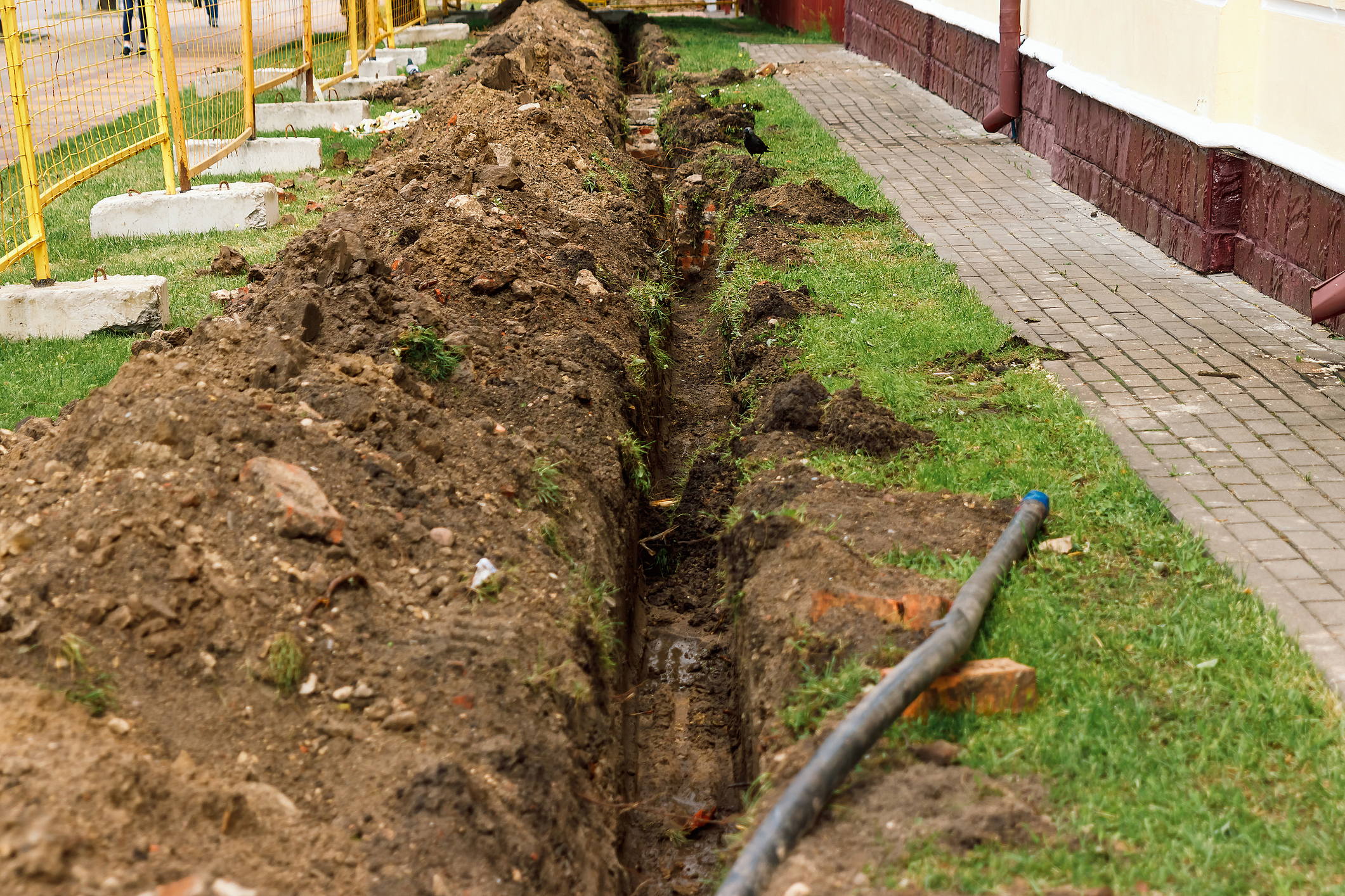 How Much Is French Drain Installation Pittsburgh Guys