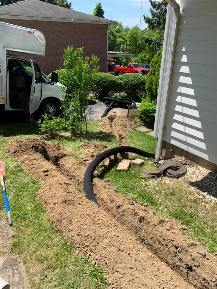 French Drain Installers Pittsburgh
