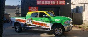 Pittsburgh Drain Guys Truck