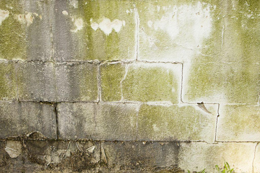 cracked basement walls
